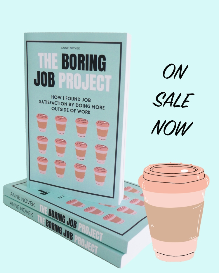 the boring job project now on sale