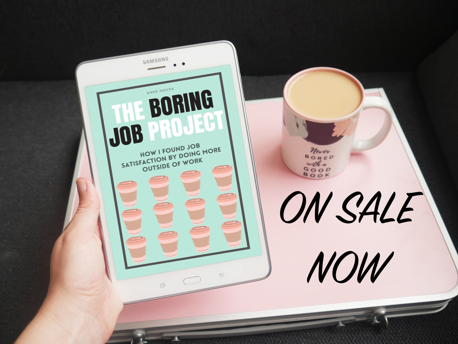 the boring job project is one sale now